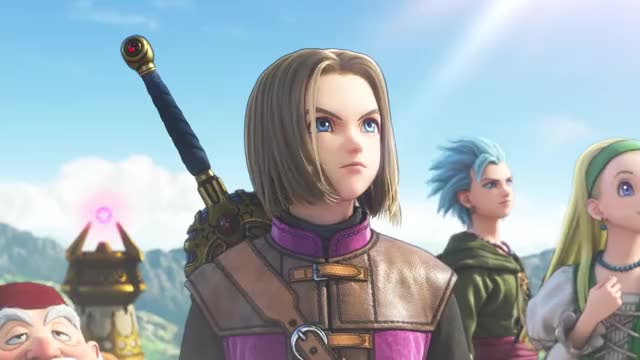 Watch and share Dragon Quest 11 GIFs and Dragon Quest Xi GIFs on Gfycat