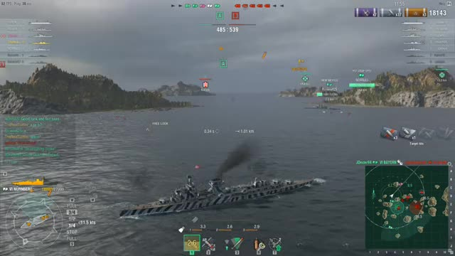 Watch WoWS One-shot GIF by TheRealTurtler (@therealturtler) on Gfycat. Discover more worldofwarships GIFs on Gfycat