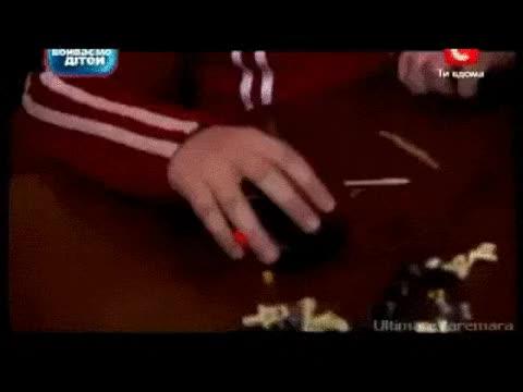 Watch and share Crazy Reflex | Crazy Ukrainian Kid GIFs on Gfycat