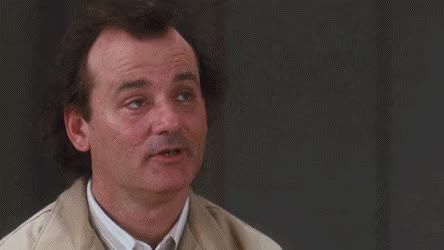 Watch and share Bill Murray GIFs by reactionclub on Gfycat