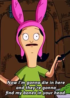 Watch request [x] GIF on Gfycat. Discover more awkward-winks, bob's burgers, bobsburgersedit, louise belcher, mazel tina, photoshopped, request GIFs on Gfycat