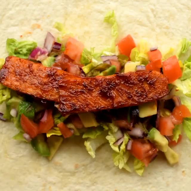 Watch and share BBQ Tempeh Wraps GIFs by lnfinity on Gfycat