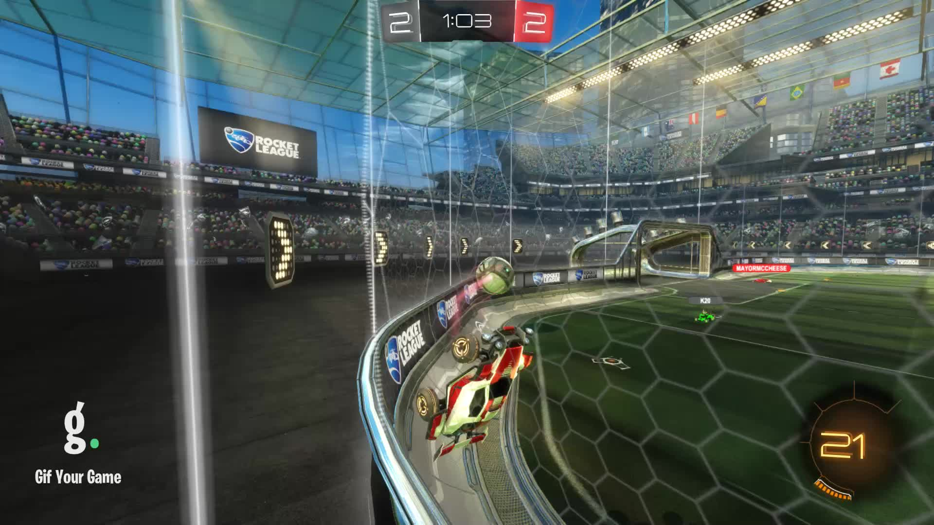 Assist, Gif Your Game, GifYourGame, ItWas...Justified, Rocket League, RocketLeague, Assist 3: ItWas...Justified GIFs