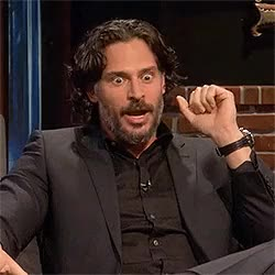 Watch this joe manganiello GIF on Gfycat. Discover more joe manganiello, my gifs, the nerdist GIFs on Gfycat