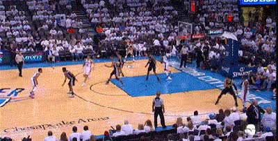 Watch and share Steven Adams GIFs on Gfycat