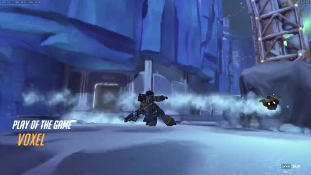 Watch Stay Frosty!, competitiveoverwatch GIF by @orangevoxel on Gfycat. Discover more mei, overwatch, winter wonderland GIFs on Gfycat