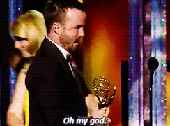 Watch and share Aaron Paul GIFs and Oh My God GIFs on Gfycat