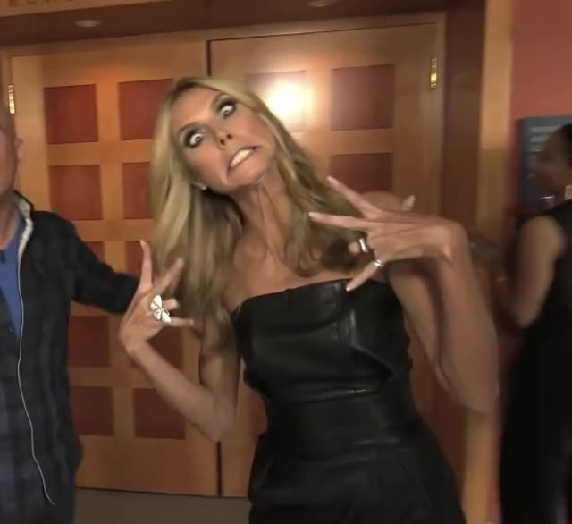 Watch and share Heidi Klum GIFs by Reactions on Gfycat