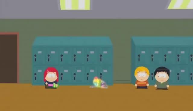 South Park Mr Mackey Shits Himself (HD) GIFs