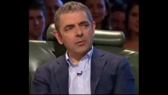 Watch and share Rowan Atkinson GIFs and Celebs GIFs on Gfycat