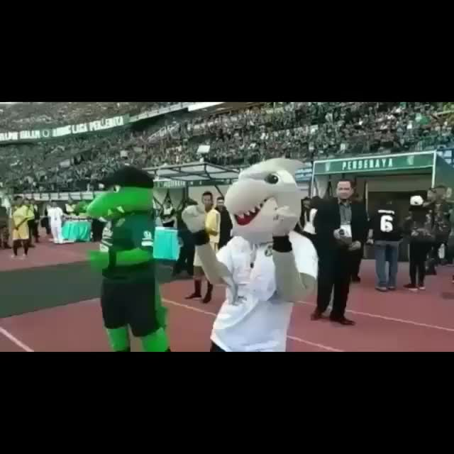Watch and share Zoro & Jojo (Bonek - Persebaya) GIFs on Gfycat