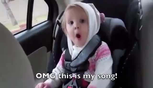 Watch and share Music GIFs and Baby GIFs on Gfycat
