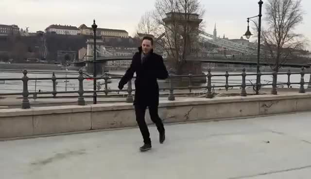 Watch and share Heel Click In Budapest GIFs on Gfycat