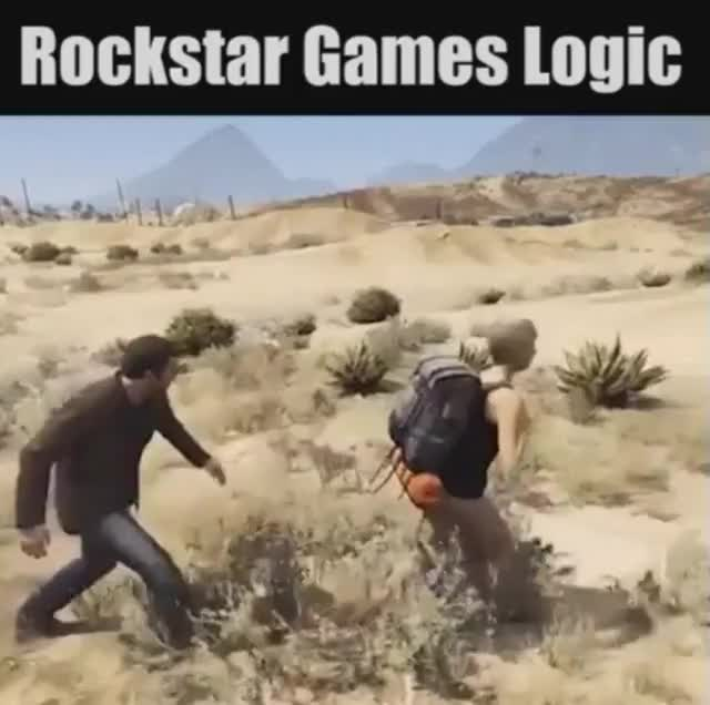Watch and share Rockstar Games Logic GIFs on Gfycat