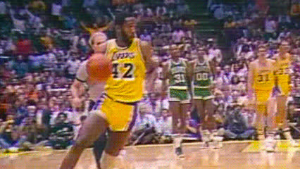 James Worthy — Los Angeles Lakers GIFs
