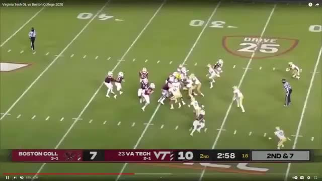 Watch and share Darrisaw Blocking (1) GIFs by maxcowell24 on Gfycat