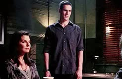 Watch this trending GIF on Gfycat. Discover more 9.06 The Lady in The Lake, CSI:NY, CSINY, Don Flack, Jo Danville, Sela Ward, eddie cahill GIFs on Gfycat