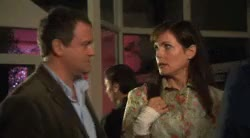 Watch and share Elizabeth Mcgovern GIFs and Hugh Bonneville GIFs on Gfycat
