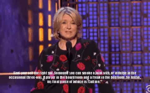 Watch and share Martha Stewart GIFs on Gfycat