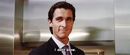 christian bale, i don't know, idk, Sales GIFs