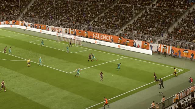 Watch fifa18 Allan Knuckle shot GIF on Gfycat. Discover more related GIFs on Gfycat