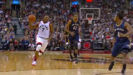 Watch and share Kyle Lowry And DeMar DeRozan — Toronto Raptors GIFs by Off-Hand on Gfycat