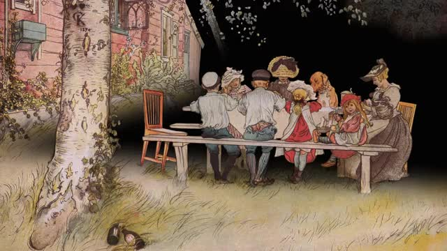 Watch Carl Larsson Breakfast under the big birch GIF on Gfycat. Discover more related GIFs on Gfycat