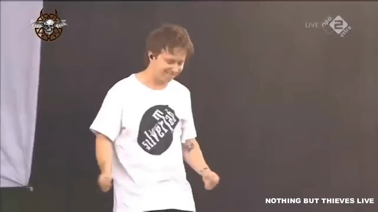 amsterdam, Nothing But Thieves - Amsterdam Live (Pinkpop 2018) GIFs