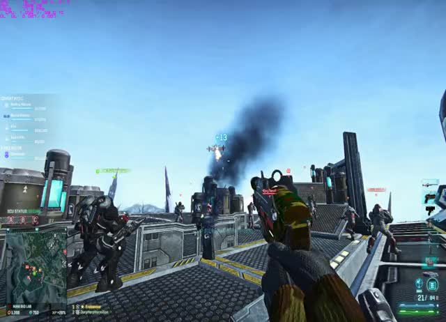 Watch and share Planetside GIFs by endeavour on Gfycat