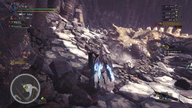 Watch Monster Hunter World 2019.02.18 GIF by Hyeonsu  Lee (@ganjestorm) on Gfycat. Discover more Monster Hunter World GIFs on Gfycat