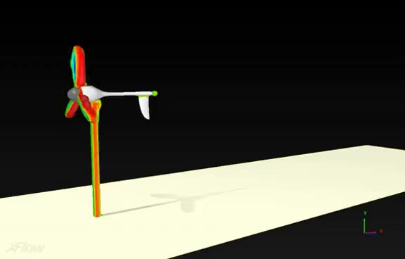 Watch and share Wind Turbine Simulation GIFs on Gfycat