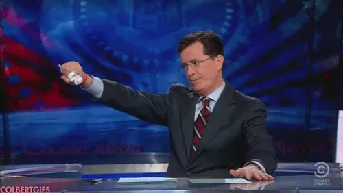 Watch me and my homie GIF on Gfycat. Discover more stephen colbert GIFs on Gfycat
