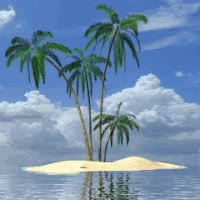 Watch and share Animated Water With Plam Trees GIFs on Gfycat