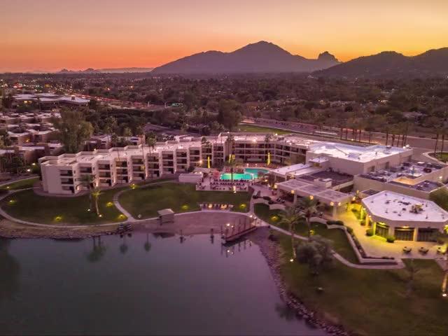 Watch DJI Mavic 4k Aerial hyperlapse by Alex Harris licensed drone pilot - The McCorcmick Scottsdale Resort GIF on Gfycat. Discover more AZ Sunsets, Arizona, McCormick Ranch, Scottsdale, aerial photography, aerial timelapse, camelback, dji mavic, drone photography, hyperlapse, mavic pro, timelapse GIFs on Gfycat