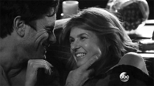OTP for life, chip esten, connie britton, deacon claybourne, happy at last, my beautiful babies, nashville abc, rayna jaymes, rayna x deacon, Samantha Graham GIFs