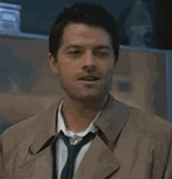 Watch and share Misha Collins GIFs and Licking GIFs on Gfycat