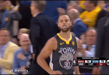 Steph Curry shimmy reaction GIFs