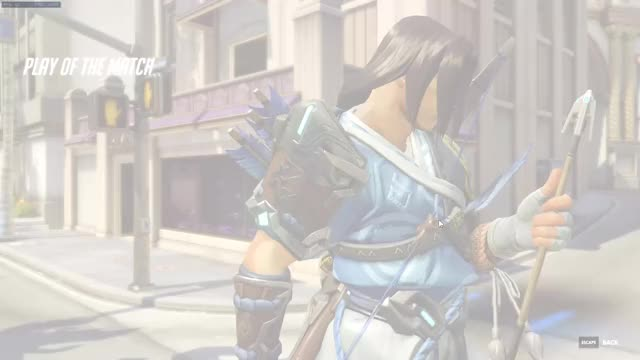 Watch and share Overwatch GIFs and Hanzo GIFs by tsubalachi on Gfycat