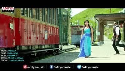 Watch and share Hawa Hawa Full Video Song || Rabhasa Video Songs || Jr Ntr, Samantha, Pranitha GIFs on Gfycat