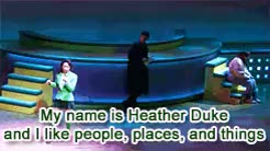 Watch and share Heather Mcnamara GIFs and Heathers And Rec GIFs on Gfycat