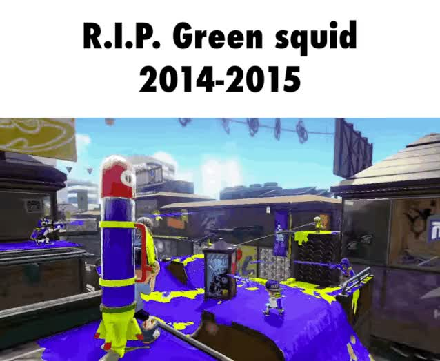 Watch and share Splatoon GIFs and Squid GIFs by tomassz on Gfycat