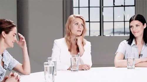 Watch and share Claire Danes GIFs and Jessica Pare GIFs on Gfycat