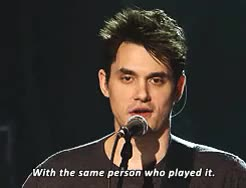 Watch and share Vh1 Storytellers GIFs and John Mayer GIFs on Gfycat