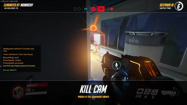 Watch and share OW Bug CP Timer At 100 GIFs by justdroppinby on Gfycat