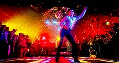 Watch Tony Manero at the disco GIF on Gfycat. Discover more related GIFs on Gfycat
