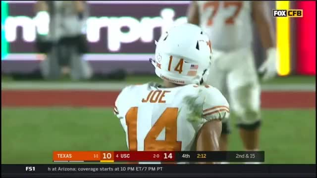 Watch 2017 - Texas Longhorns at USC Trojans in 40 Minutes GIF by @oriese on Gfycat. Discover more related GIFs on Gfycat