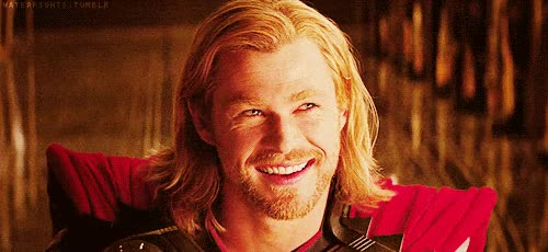 Watch and share Thor, Avengers, Chris Hemsworth, Wink, Flirty GIFs on Gfycat