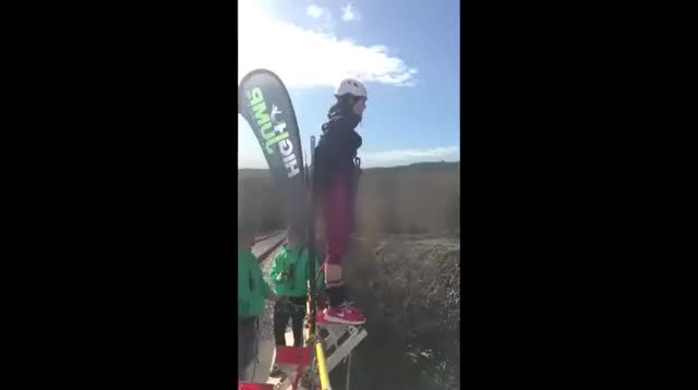 Watch and share WCGW Bungee Jumping GIFs by Rafal Myrta on Gfycat