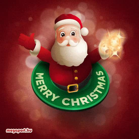 Watch and share Christmas Animation GIFs and Santa Animation GIFs by MEGAPORT.hu on Gfycat