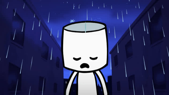 disappointed, love u, marshmello, music video, rain, sad, Marshmello - Love U Music Video GIFs